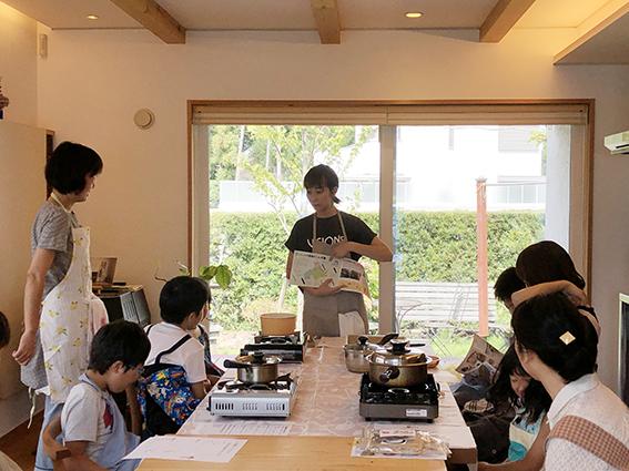 「みつけよう自分だけの味」小学生のためのお味噌汁講座