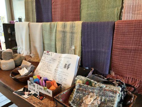 手織りと草木染めの作品展